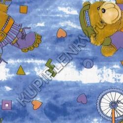 8033 детская декоративная самоклеющаяся пленка с медведями D&B Китай шириной 45 см и длиной 8 м