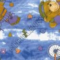 8033 декоративная самоклеющаяся пленка с медведями D&B Китай шириной 45 см и длиной 8 м