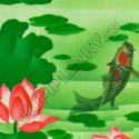 9031 витражная цветная прозрачная самоклеющаяся пленка D&B Китай шириной 45 см и длиной 8 м