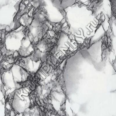 3836 пленка самоклеющаяся черно белая под мрамор D&B Китай шириной 67 см и длиной 8 м
