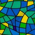 9022C витражная пленка на стекло самоклеющаяся с рисунком D&B Китай шириной 45 см и длиной 8 м
