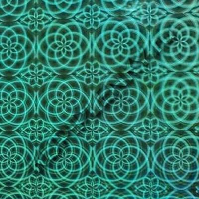 LB-080C D&B Китай зеленая голографическая пленка самоклеющаяся купить шириной 45 см и длиной 8 м