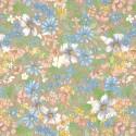 9017A самоклеящаяся пленка цветы D&B Китай шириной 45 см и длиной 8 м